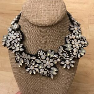 Beautiful J.Crew black bib necklace